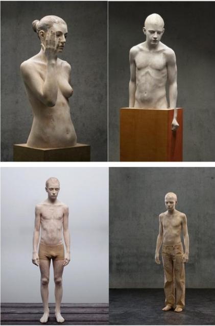简易3d木头雕塑