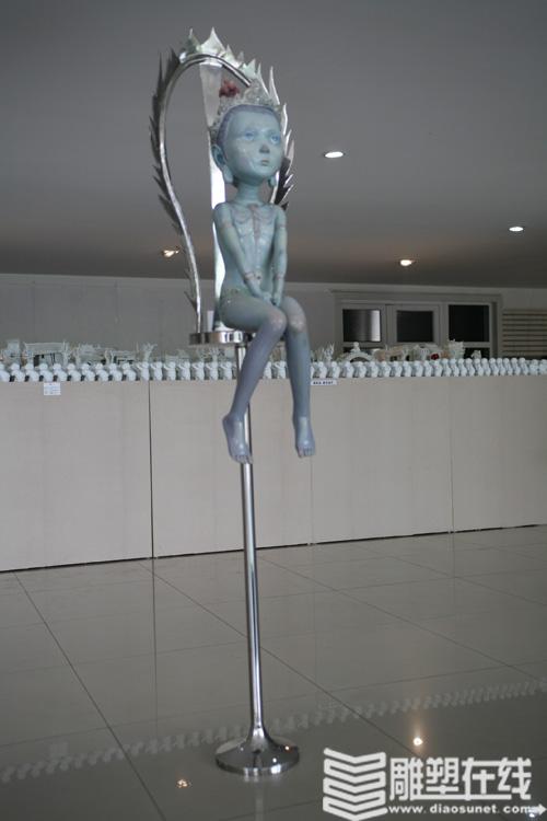 四川美院雕塑系2008届毕业生作品展(图)