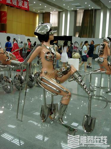 中央美院雕塑系2008届毕业展(图)