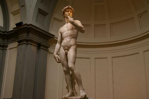米开朗基罗雕塑结构图