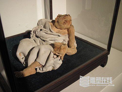 """""""王者之尊""""田世信雕塑展展55件作品(图)"""