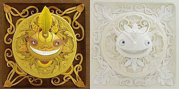 美国女艺术家的软陶泥雕塑作品